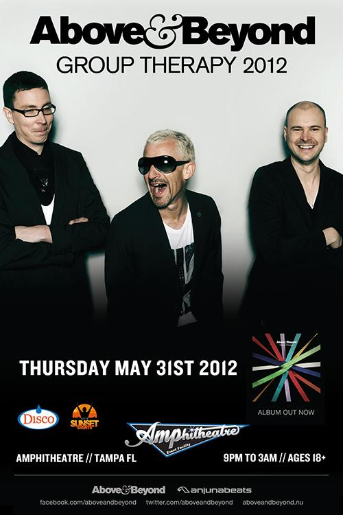 Above & Beyond 5-31-12 Tickets