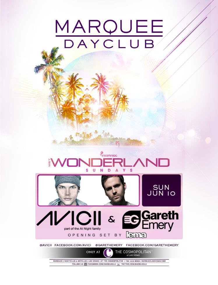 Avicii & Gareth Emery 6-10-12 Tickets