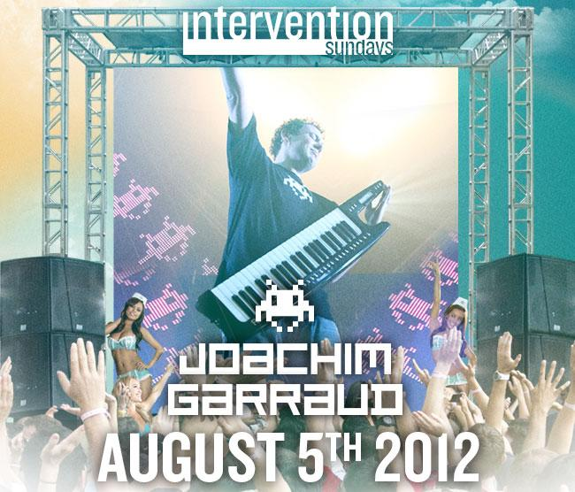 JOACHIM GARRAUD 8-5-12 Tickets