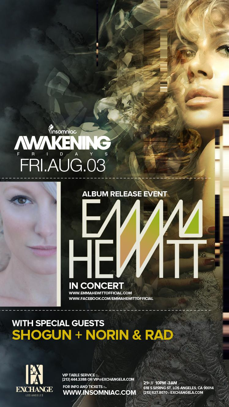 Emma Hewitt 8-3-12 Tickets
