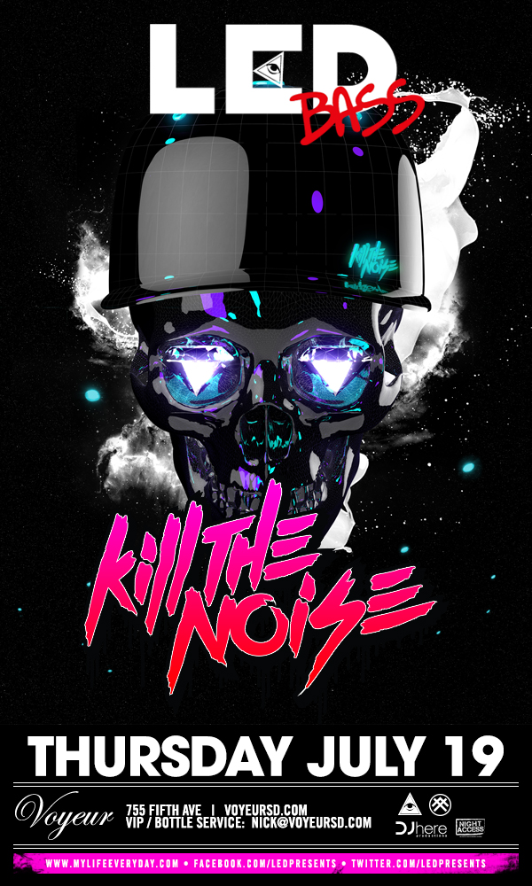Kill The Noise 7-19-12 Tickets