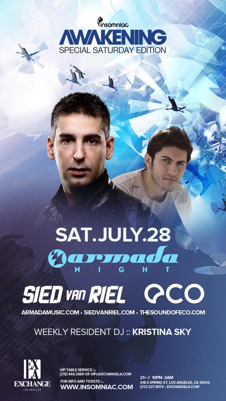 Sied van Riel & Eco 7-28-12 Tickets