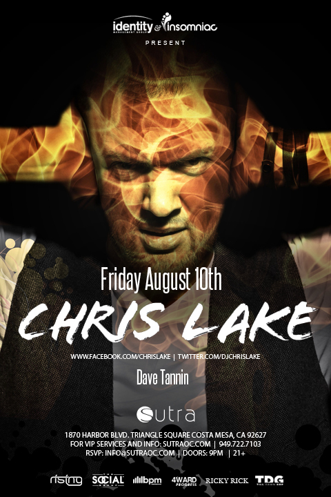 Chris Lake 8-10-12 Tickets