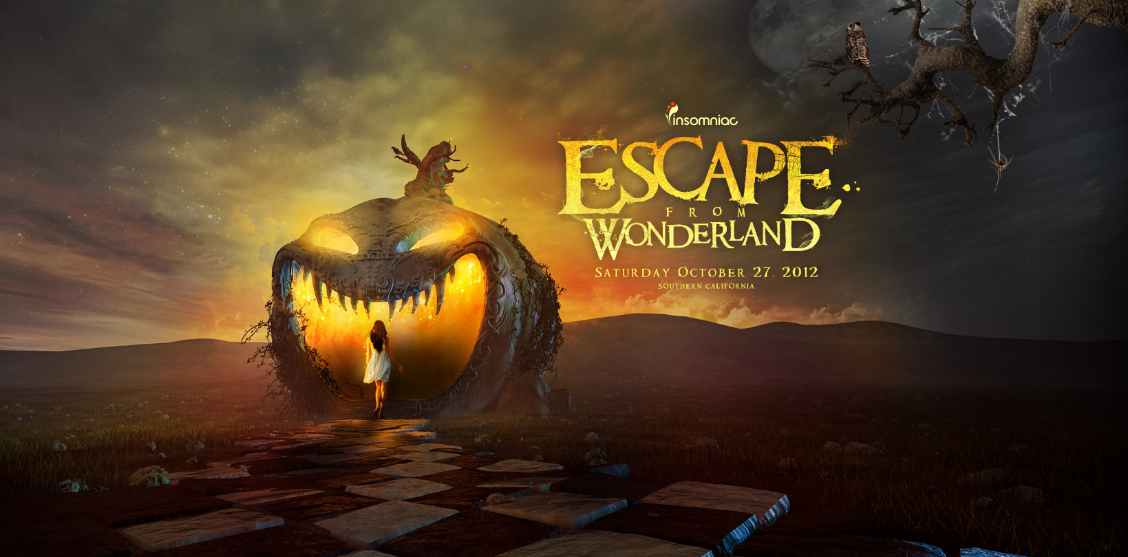 Escape From Wonderland 2012 at The National Orange Show 10-27-12 Tickets