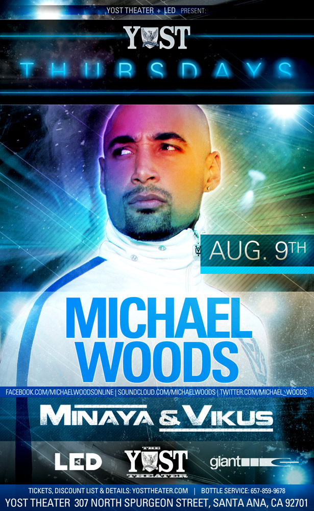 Michael Woods 8-9-12 Tickets