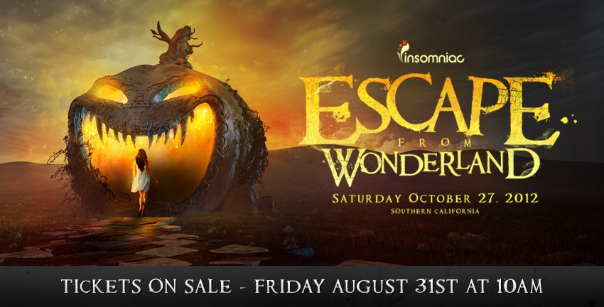 Escape From Wonderland 2012 Poster & Tickets