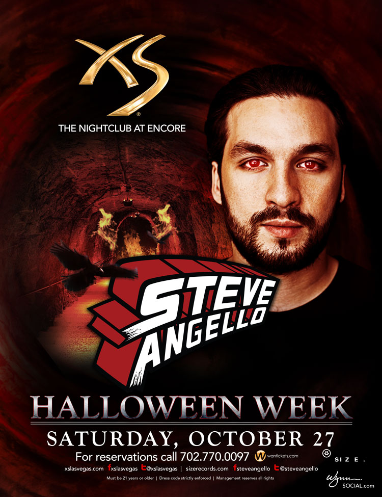 Steve Angello at XS 10-27-12 Tickets
