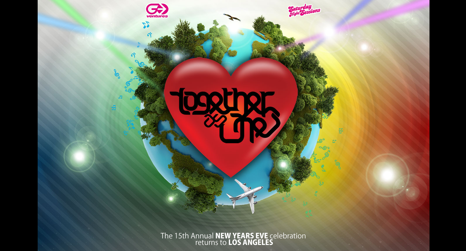 Together As One (TAO) NYE 2013 at The Shrine Expo Hall 12-31-12 Tickets