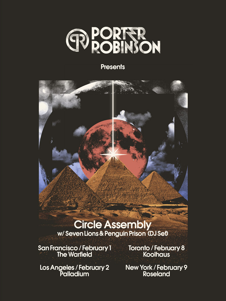 Porter Robinson at The Hollywood Palladium 2-2-12 Tickets
