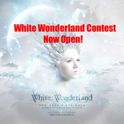 White Wonderland Contest Now Open - Enter Now To Win!