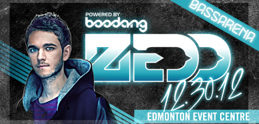 Zedd at Edmonton Event Centre 12-30-12 Tickets