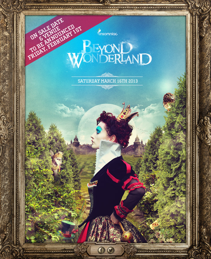 Beyond Wonderland 2013 March 16th Tickets
