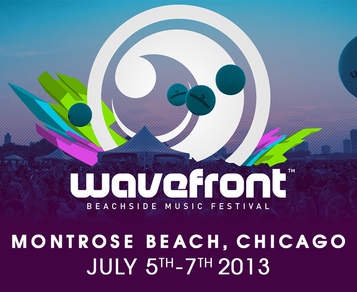 Wavefront Music Festival 2013 at Montrose Beach July 5th - July 7th Tickets
