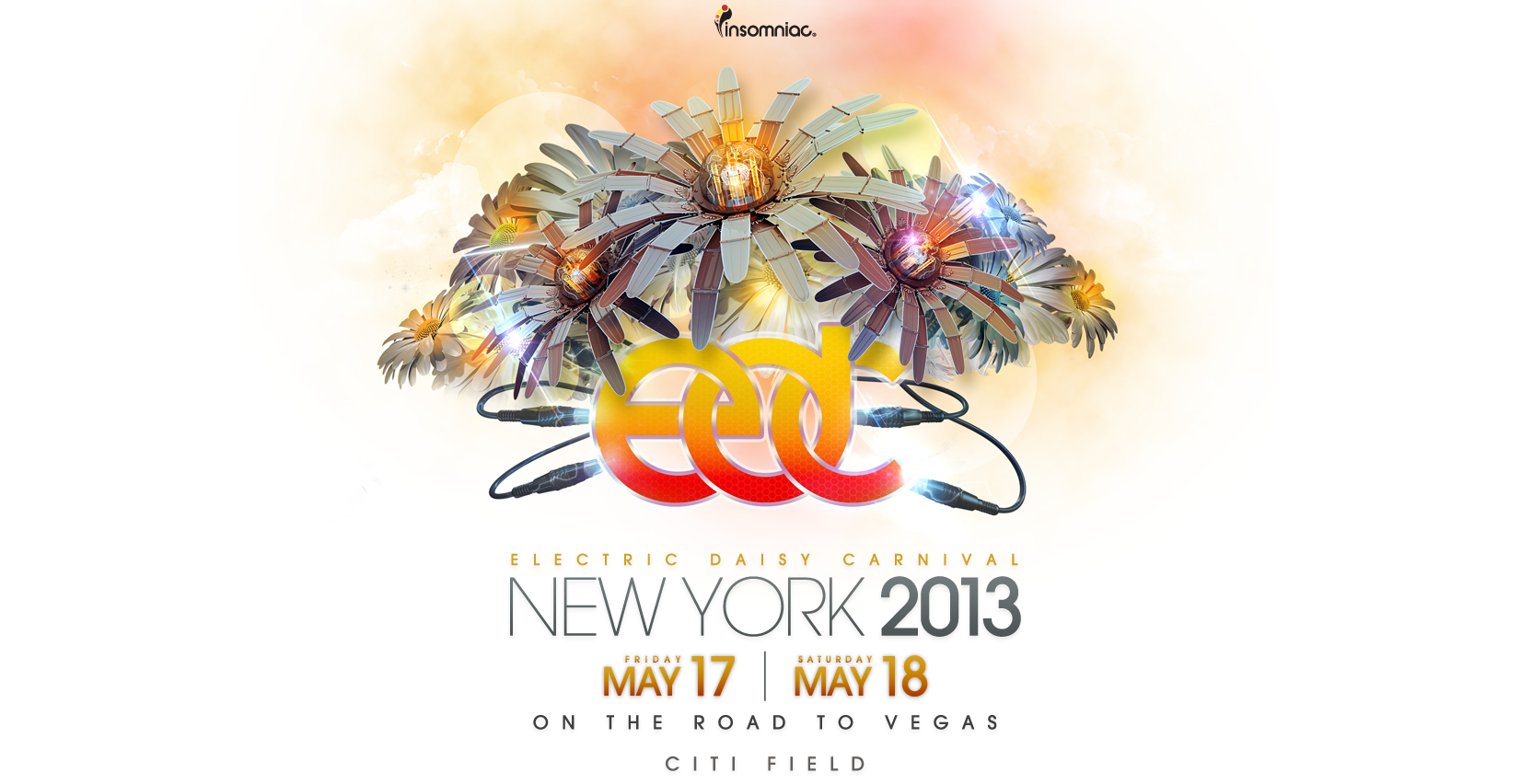 Electric Daisy Carnival (EDC) New York 2013 Tickets