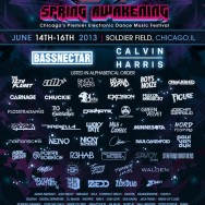 Spring Awakening 2013 Tickets June 14th &#8211; 15th w/ Bassnectar, Calvin Harris + more!