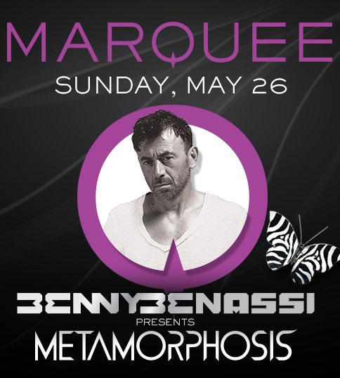 Benny Benassi at Marquee MDW May 26 Tickets