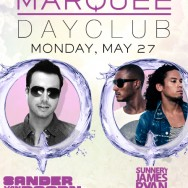 Sander van Doorn at Marquee Dayclub Tickets May 27th, 2013 with Sunnery James and Ryan Marciano