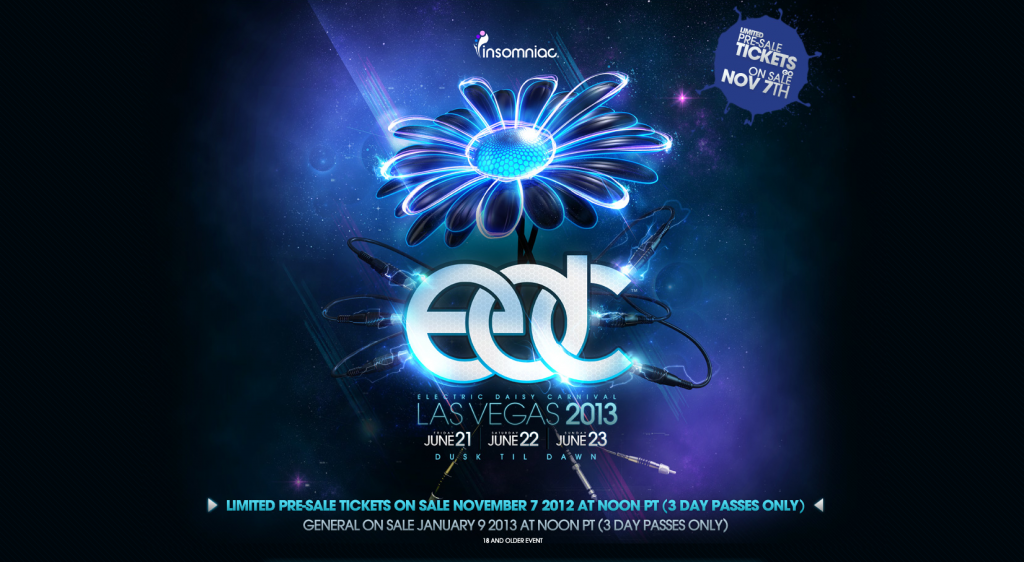 EDC 2013 Vegas Tickets