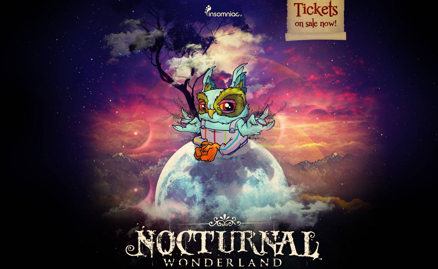 Nocturnal Wonderland 9-21-13 Tickets & Info